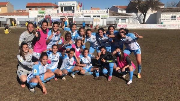 El Málaga Femenino suma una importante victoria ante La Solana (2-3)
