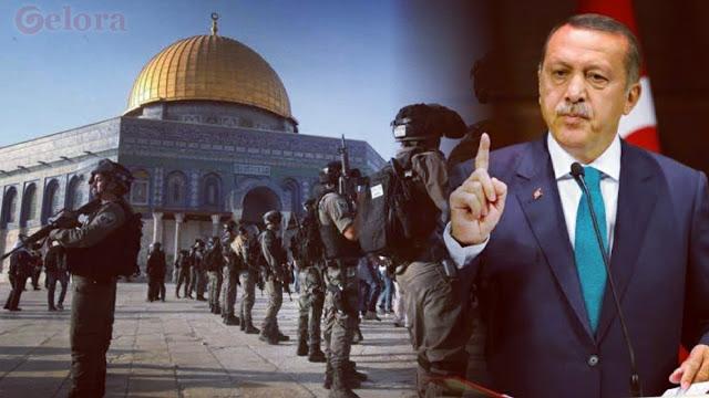 Erdogan Bersumpah akan Bebaskan Masjid Al Aqsa