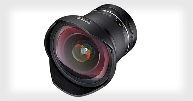 "Nuovo Samyang XP 10mm f/3.5 grandangolo ""estremo"" per Fullframe"