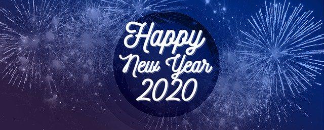 Foto Foto/Gambar Happy Tahun Baru (New Year) 2020 Full HD