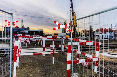 Karczunkowska viaduct - work begins in earnest