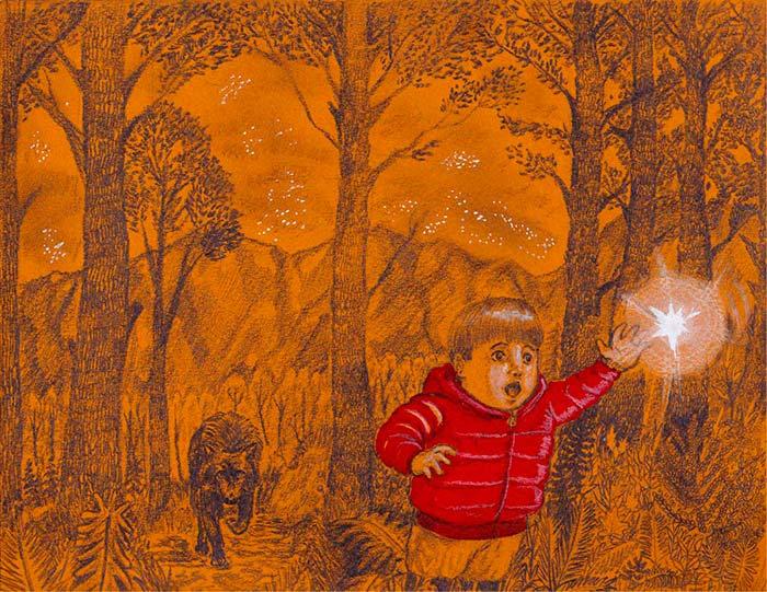Ilustración, Magia negra de Juan Camilo Cadavid