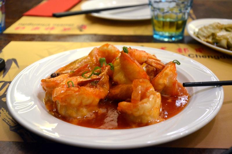 Gamberoni nella botte e cavolo cinese piccante gusto for Gamberi alla piastra cinesi
