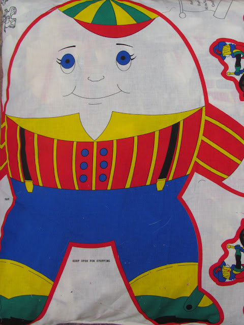 humpty dumpty fabric for cut out doll