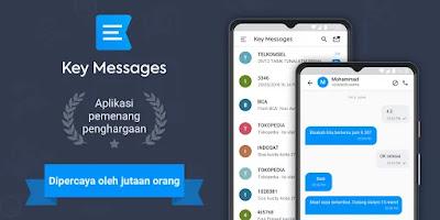 Key Messages – SMS Blocker, Spam blocker Android
