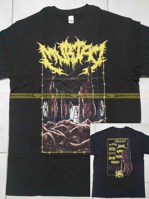 T-Shirt MURTAD - Kuala Lumpur Death Fest