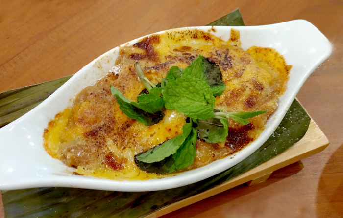 Bibingka Pudding