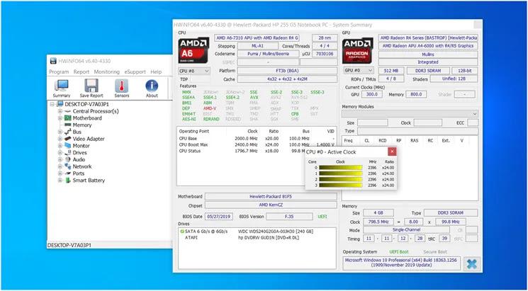 HWiNFO : Ισχυρή εφαρμογή ανάλυσης και απεικόνισης πληροφοριών του  υπολογιστή σας