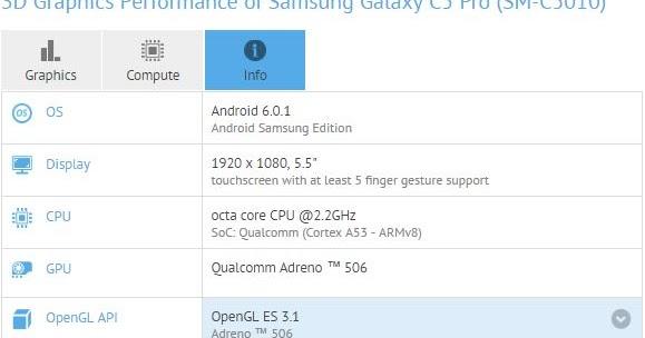 Xiaomi Indonesia Spesifikasi Dari Samsung Galaxy C5 Pro