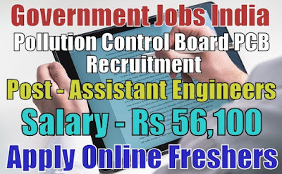 Pollution Control Board PCB Recruitment 2020