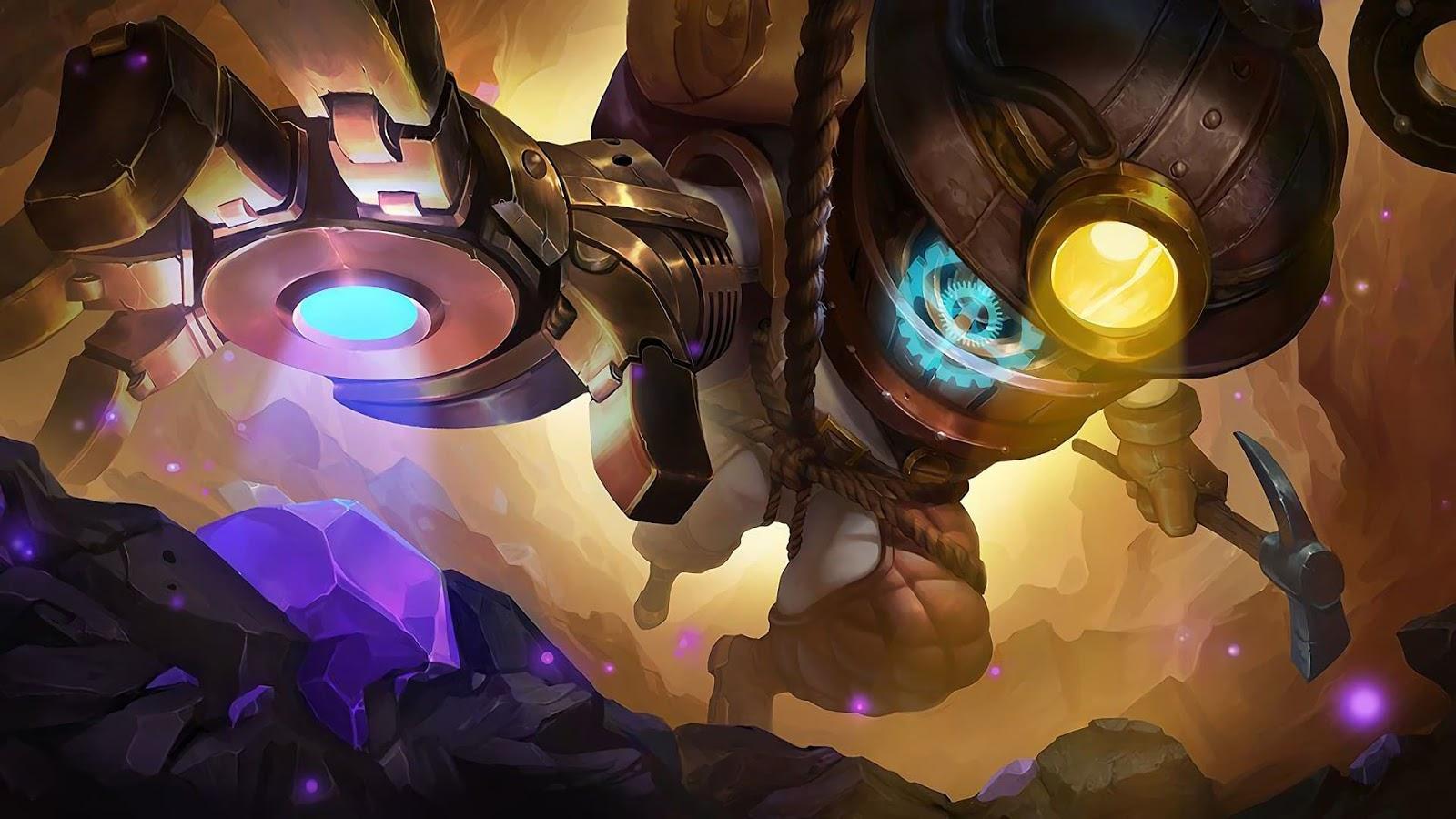 Wallpaper Cyclops Super Adventurer Skin Mobile Legends HD for PC