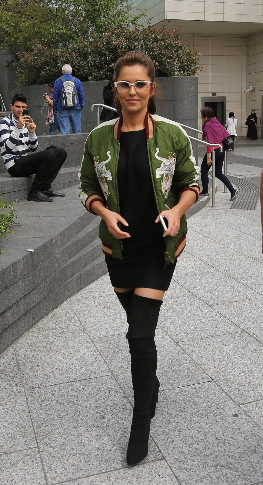 Cheryl Cole At Soho House Exclusive House Festival In Twickenham