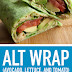 Alt Wrap (Avocado, Lettuce, and Tomato) Vegan & Gluten Free