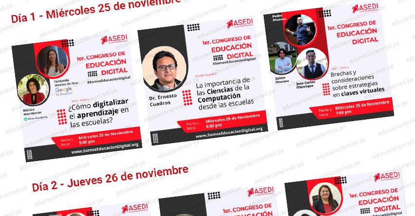 Inscripciones gratuitas para Congreso de Educación Digital - www.somoseducaciondigital.org