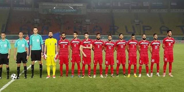 منتخبنا الاولمبي يلتقي نظيره الفلسطيني في دور الـ 16 في دورة الألعاب الأسيوية