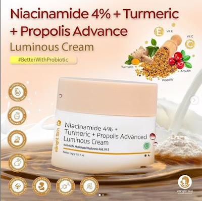 natural skincare ebright