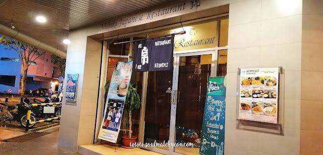 Dec 31 Dining Experience @ Nishiki Japanese Restaurant, the first Japanese restaurant in KK town