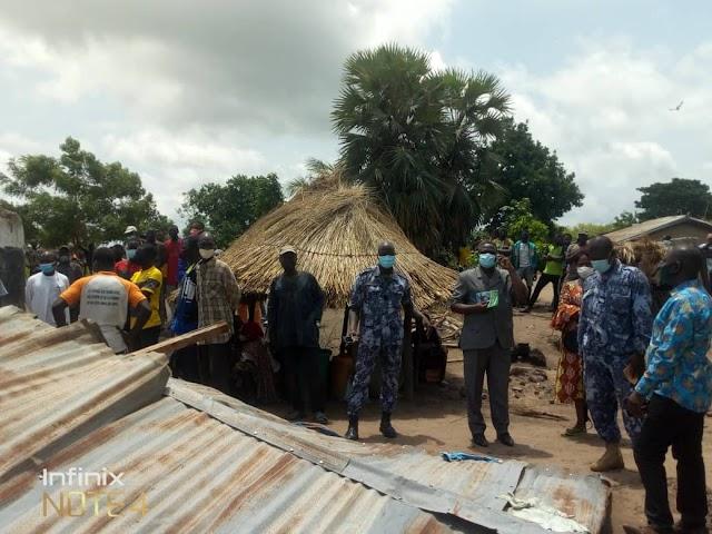 Anié : 1 mort et des dégâts matériels très importants à la suite d'une pluie dilluvienne