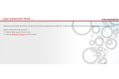 Lupa Password PB Garena Indonesia