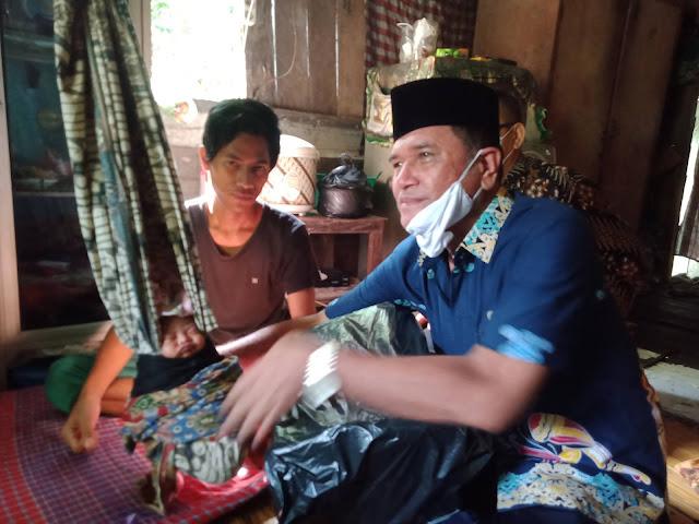 Waket I DPRD Barsel Minta Kelurahan Buntok Kota Mendata Masyarakat Kurang Mampu Dengan Akurat