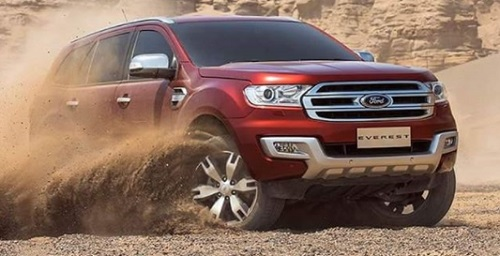 Design Ford Everest