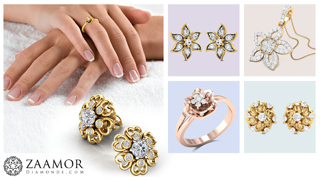 Zaamor Diamonds - Floral Jewelry