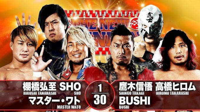 Cobertura: NJPW Road To The New Beginning 2021 – Day 03 – Dragão imbatível!