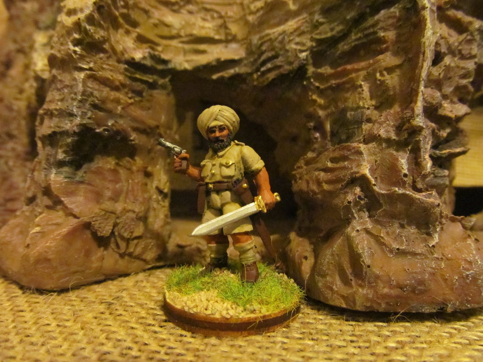 Toy Soldiers and Dining Room Battles: IHMN: 14th Sikh's