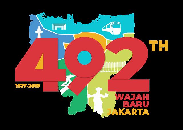 Logo HUT DKI Jakarta 492