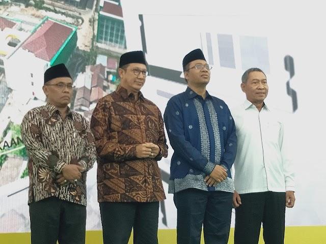 Mentri Agama Soft Launching Sembilan Gedung UIN Mataram