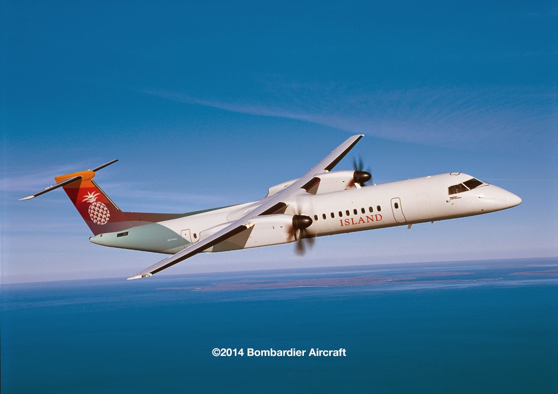 HNL RareBirds: Island Air Orders Q400 NextGens