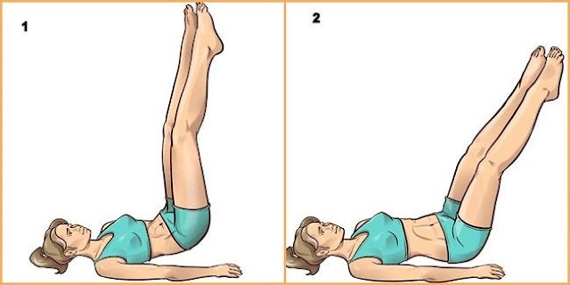 Simple Exercises To Perform In Bed Before Sleeping To Refine The Legs
