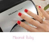 Vernis semi permanent  Kit ruby Meanail Paris