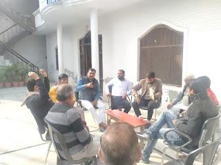 उन्नाव : राम मंदिर निर्माण कार्य  के लिए की गई बैठक