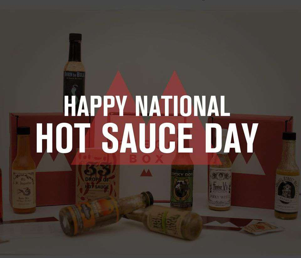 National Hot Sauce Day Wishes Unique Image