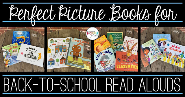 Back to school read alouds, beginning of the year picture books