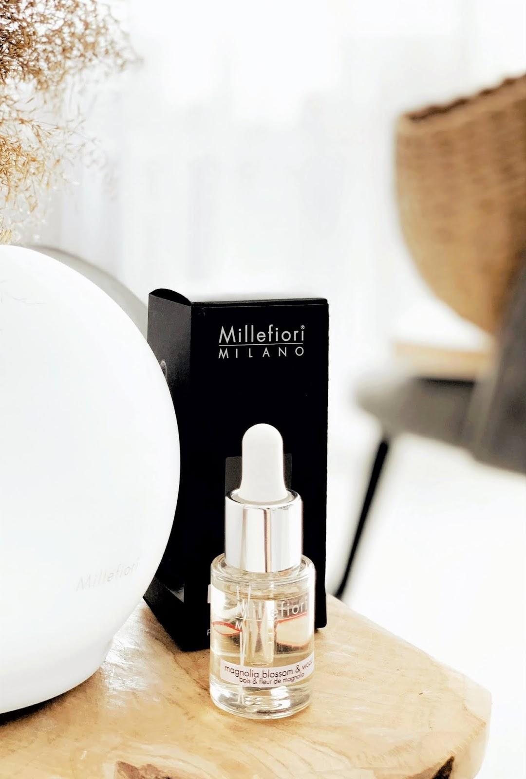 Odswiezacz-ultradzwiekowy-Millefiori-Milano-Glass-Sphere-magnolia-blossom-wood