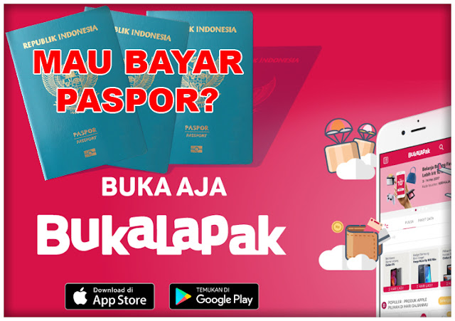 Bayar Paspor Sekarang Bisa di Bukalapak dan Tokopedia