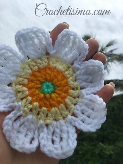 Margarita Mía Crochet paso a paso