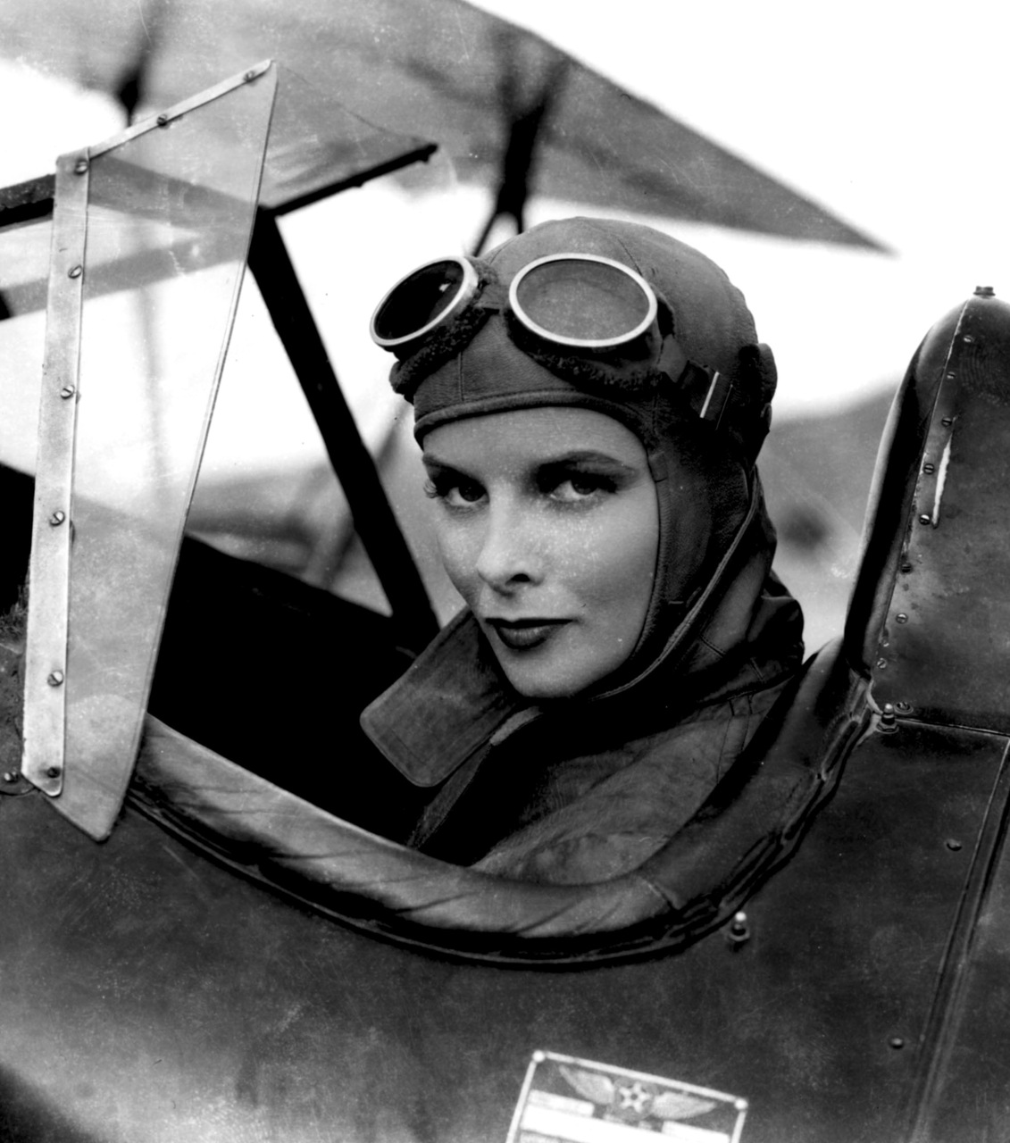 katherine hepburn flying pic