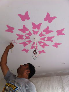 Ceiling Painting Design Ideas For Kids Room Ceiling