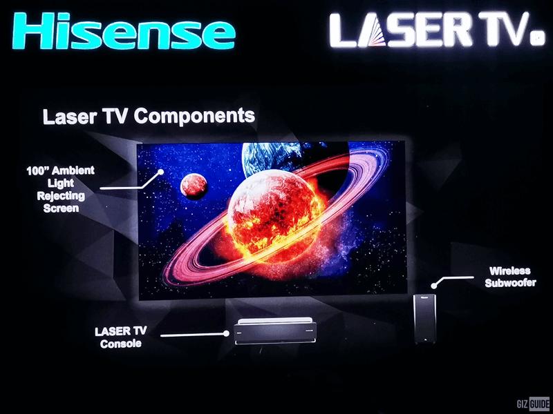 Hisense Laser TV components