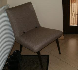 renowacja fotela z PRL