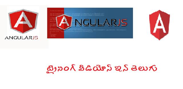 Angularjs training videos in telugu