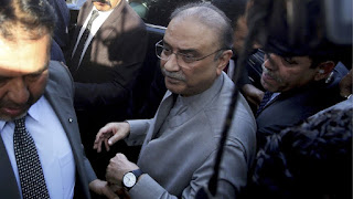 Pakistan Ex.President Asif Ali Zardari Arrested Today by NAB after IHC rejects bail