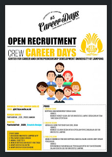 Open Recruitment Career Days 2016 Crew