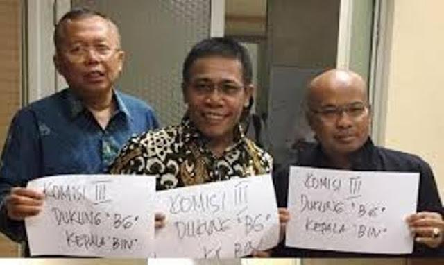 Foto Politikus Komisi III DPR Beredar Dukung Budi Gunawan Calon Kepala BIN
