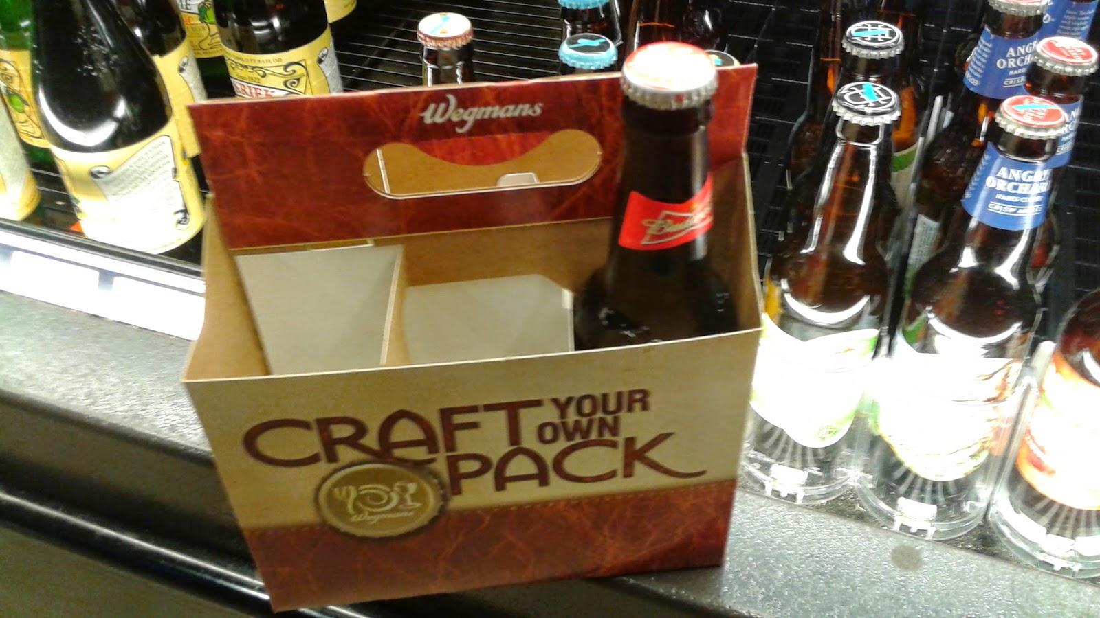 Wegmans Craft Your Own Pack Beer