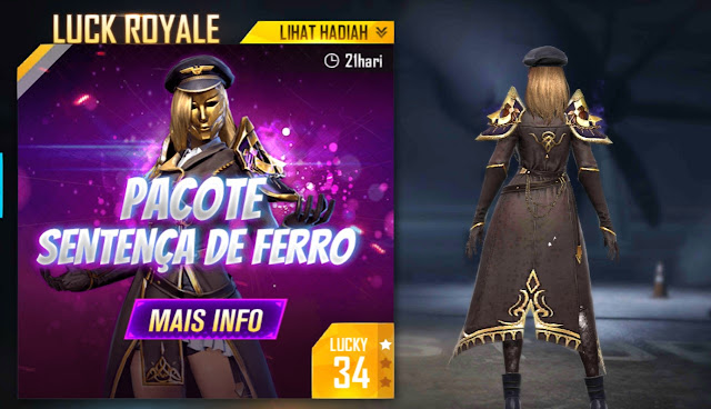bundle diamond royale FF Maret