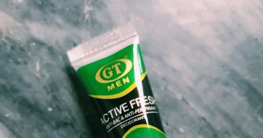 25 Pesos For Deo? GT Active Fresh Deodorant Review